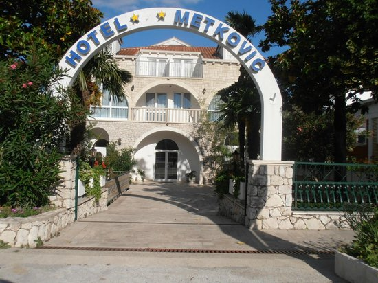 Hotel Metkovic: Front view