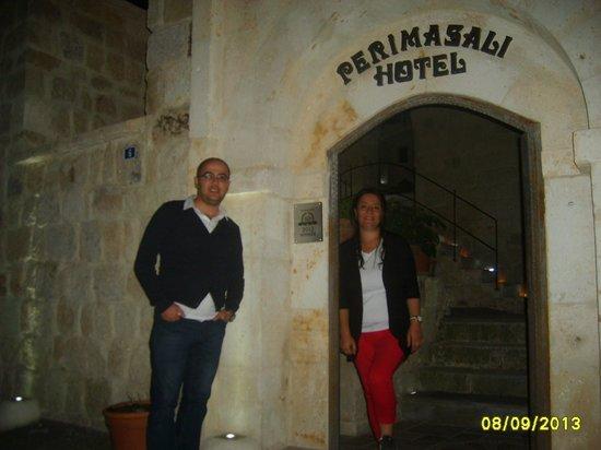 Perimasali Cave Hotel - Cappadocia: Hotel girişi