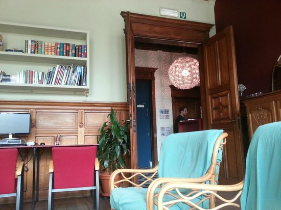 Hostel Uppelink: lounge