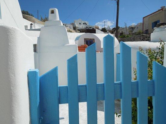 Georgis Apartments: The front gate