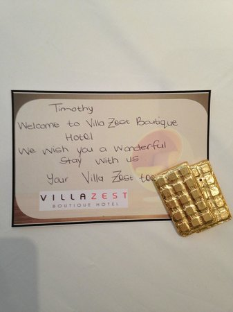 Villa Zest Boutique Hotel: Personal touches make all the difference!