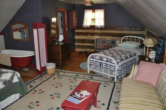 The James Wylie House: Upstairs single bed