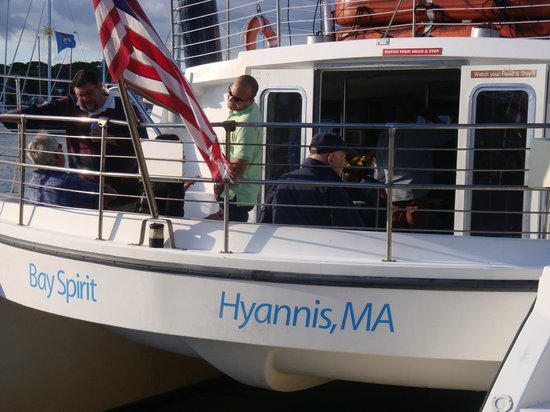 Nancy's Restaurant: Our day cruise aboard the Bay Spirit out of Hyannis!