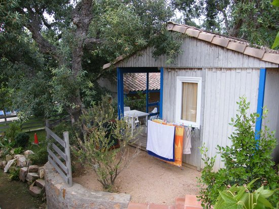 Camping Sant Pol Yelloh! Village: Bungalow
