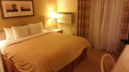 Country Inn & Suites By Carlson, Winnipeg, MB : King room (Room 218)