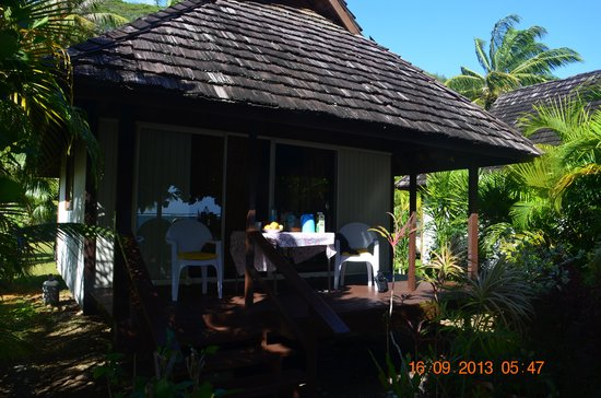 Pueu Village : bungalow