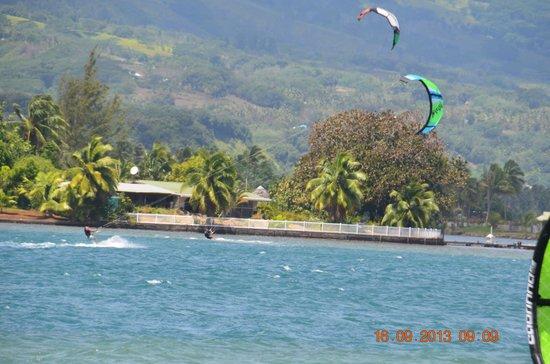 Pueu Village : spot de surf