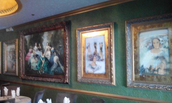 Kreso's Restaurant: amazing art