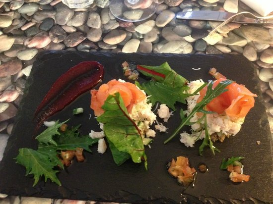 Starfish Cafe & Bistro: Peat smoked salmon