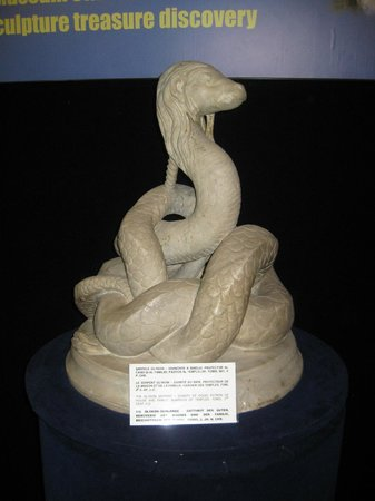 Museum of National History and Archeology : Serpent