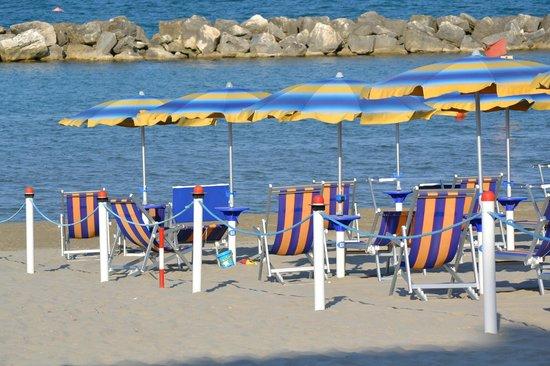 Hotel Europa: la spiaggia