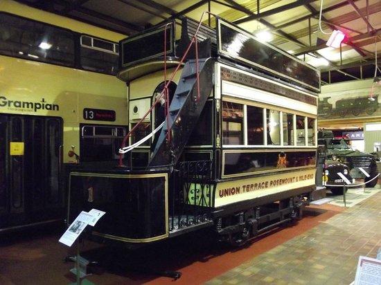 Grampian Transport Museum: Aberdeen Horse Tram 1