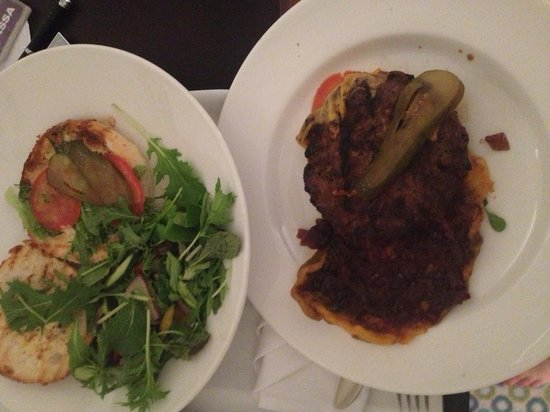 Radisson Blu Hotel Sandton, Johannesburg: My dinner