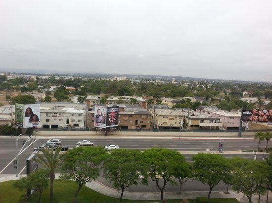 The Westin Los Angeles Airport: view from our room