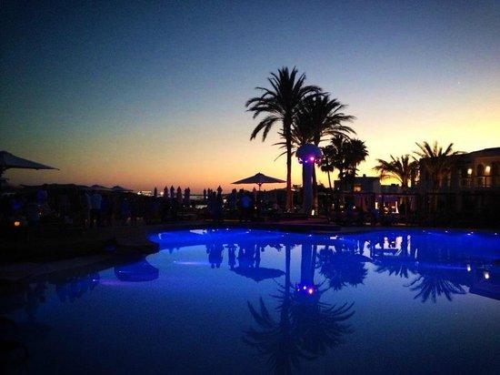 Destino Pacha Ibiza Resort: By night
