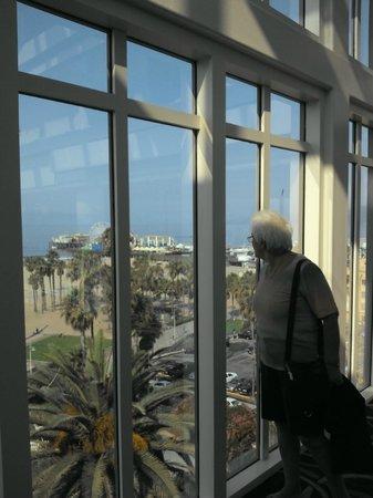 Loews Santa Monica Beach Hotel: Vistas desde el hotel