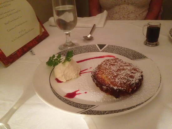 Aherne's of Youghal : one of Anne's wonderful desserts