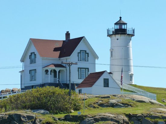 Finestkind Scenic Cruises : Nubble Lighthouse, Maine (Sept. 19, 2013)