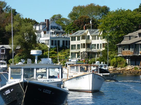 Finestkind Scenic Cruises : Perkins Cove, Ogunquit, Maine (Sept. 19, 013)