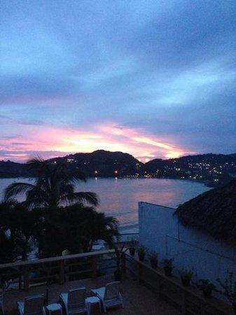 Hotel Irma: vista desde el balcón