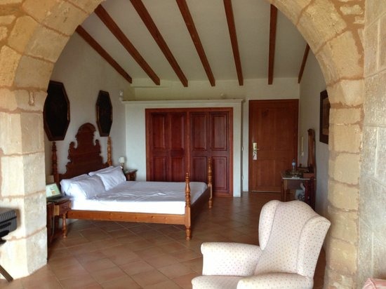 Casal Santa Eulàlia : DZ Superior mit Terrasse