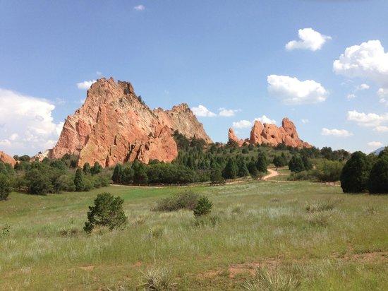 Foto De Jard N De Los Dioses Colorado Springs Red Rocks