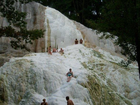 Bagni di San Filippo, Italy: piacere puro