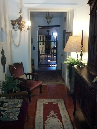 Josefina's Old Gate : Main entryway to both rooms.