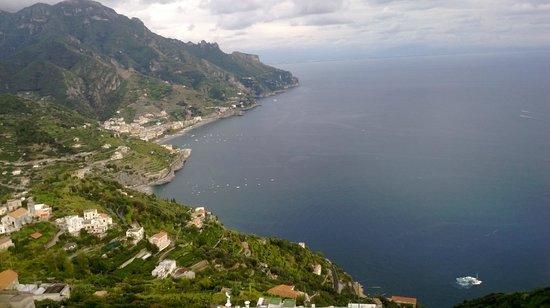 Vittoria : Vista panoramica da Ravello