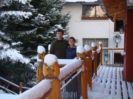 Posadas Aurelio: Dia de nieve en Posada Aurelio