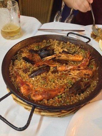 Toc de Mar : seafood paella