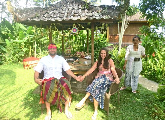 Sarinbuana Eco Lodge: Commitment ceremony, so lovely!