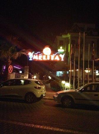 Melita Apart Hotel : the melita front entrance