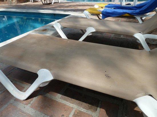 Krystal Puerto Vallarta : dirty chairs