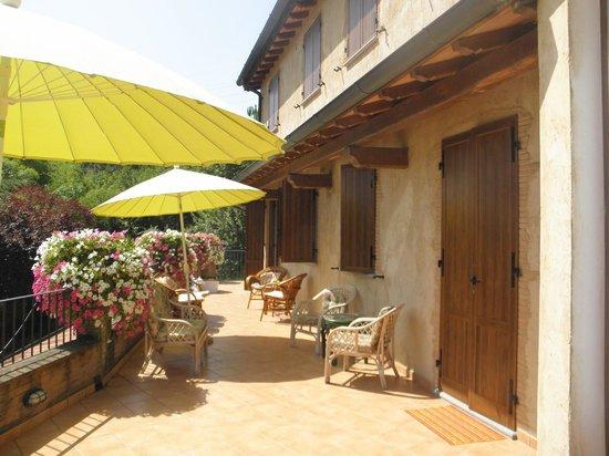Agriturismo Il Cerro : camere con balcone...