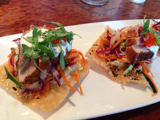 230 Forest Avenue Restaurant & Bar : Ahi Tostadas