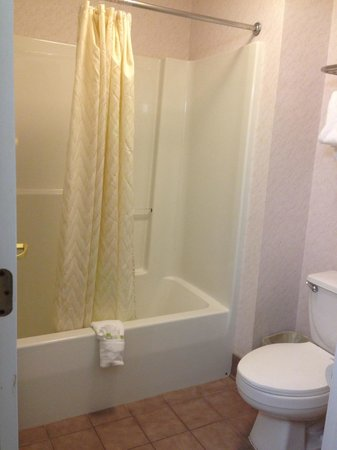 Smart Suites Burlington: the bathroom.. updated & clean