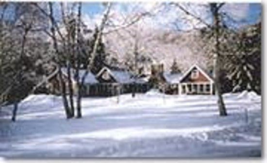 The Blake House Bed & Breakfast: The Blake House in winter