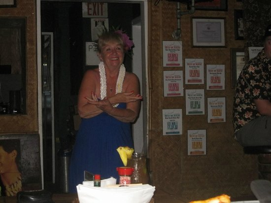 Tahiti Nui Restaurant : Linda Keale