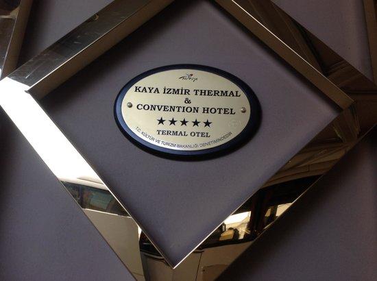 Kaya Izmir Thermal & Convention: Fachada do Hotel