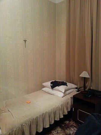 Pollera: habitación individual