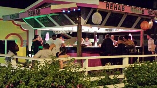 Rehab Bar Rodney Bay St Lucia: rehab bar.come rehabilitated with us