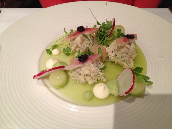 One Pico: Liscannor Bay Crab Appetizer