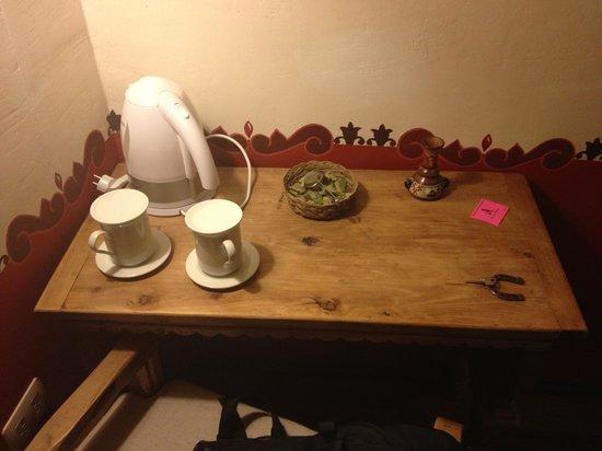 Tambo del Arriero Hotel Boutique: Chá de coca a todo momento