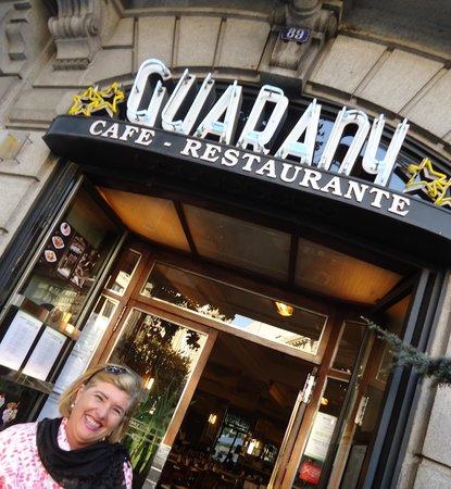 Hotel Aliados: Fachada do Café Guarani