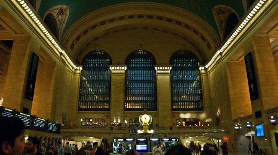 Jerry's Grand Tour of New York City: Grand Central Station