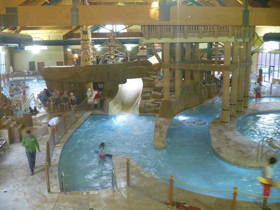 Great Wolf Lodge : Water slides/lazy river