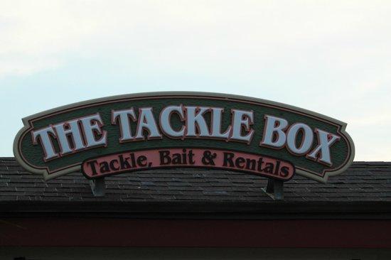Springmaid Pier : Tackle shop