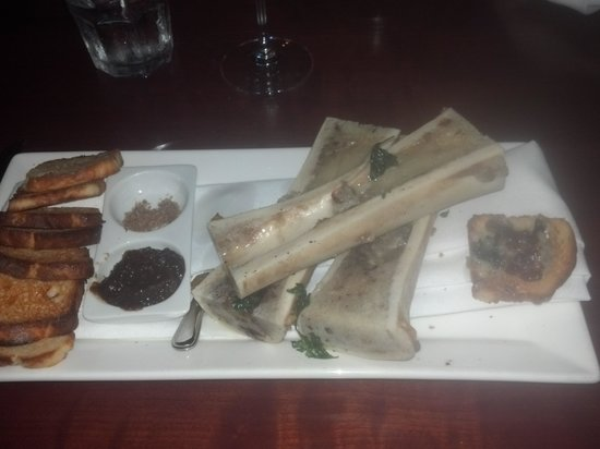 Willi's Wine Bar: Lovely Bone Marrow