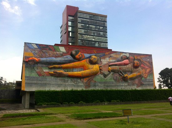 Foto De Ciudad Universitaria Ciudad De Mexico Mural De David